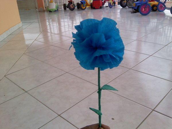 Activite manuelle fleurs crepon - Activite manuelle fleur ...