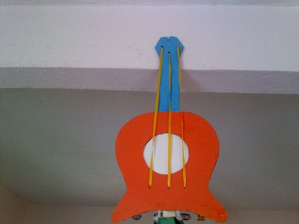 activite manuelle guitare